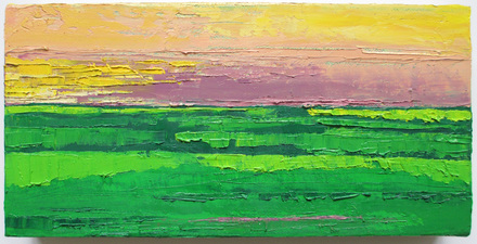 ALI HERRMANN Landscape Horizons oil on canvas
