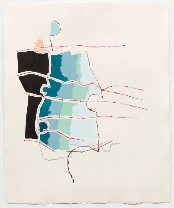 a l i s e   s p i n e l l a Paintings / Drawings Gouache, ink, graphite on handmade paper