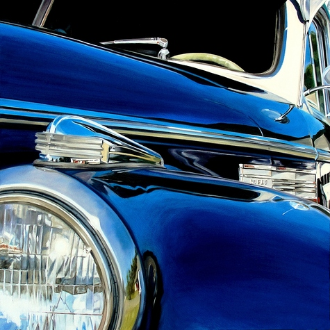 Other Paintings Blue Buick