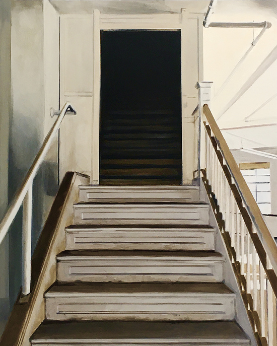 Other Paintings Where do Those Darkened Stairs Lead?