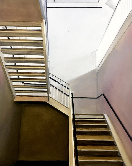 Other Paintings Stairs on 26th Street