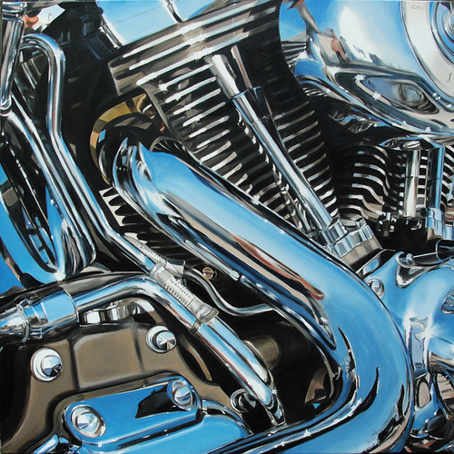 allan gorman Ready to Rumble Oil on Canvas