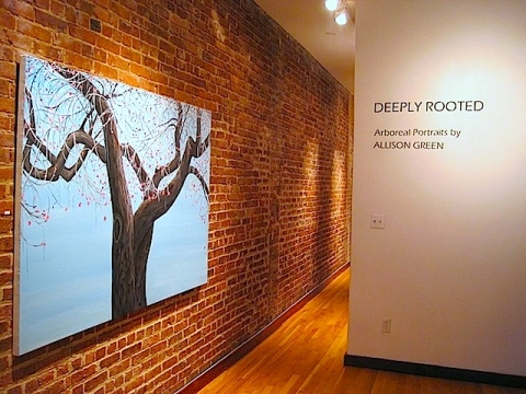 "Allison Green  ""Deeply Rooted"", SEFA, 2011"