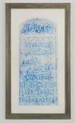 Allison SMITH Stilleven, evenStill Grave rubbing, wax on rice paper