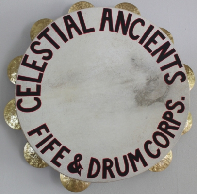 Allison SMITH Rudiments of Fife & Drum Wood, calfskin, brass