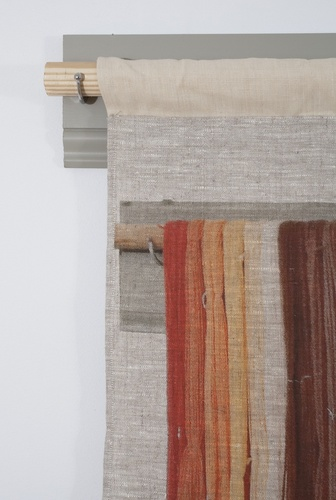 Allison SMITH Set Dressing Archival Pigment Print on Linen, Wood, Paint, Metal