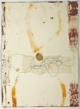 AMANDA  BARROW Prints on Paper chine colle monotype print on paper
