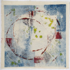 AMANDA  BARROW Prints on Paper monotype print on Himalayan paper