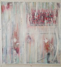 AMANDA  BARROW New Work! oil and mixed media on cotton