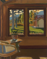 AMANDA CASE MILLIS Windows Oil on panel