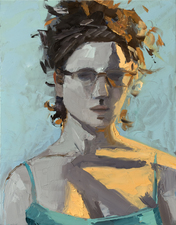 AMANDA CASE MILLIS Self Portraits Oil on panel