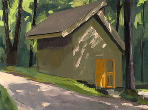 AMANDA CASE MILLIS Outside Oil on panel