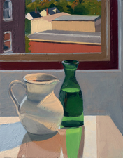 AMANDA CASE MILLIS Still Life/ Interiors Oil on panel