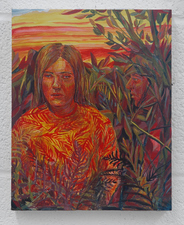 Amanda Lechner New Paintings egg tempera on panel