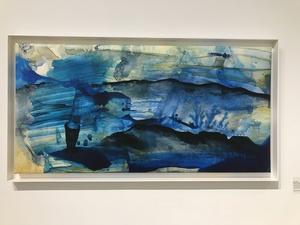 Amie Oliver Arcadia Lost Series Ink, acrylic a s aquarium water on stretched polypropylene paper