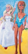 ABMacD Barbies 2006-2007 Oil on canvas
