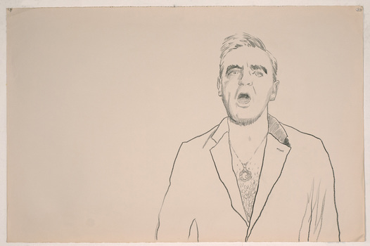 ABMacD Morrissey Drawings China marker on paper