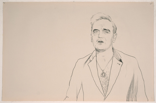 ABMacD Morrissey China marker on paper