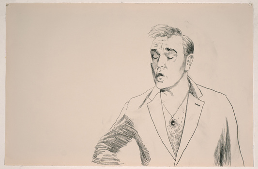 ABMacD Morrissey Drawings charcoal on paper