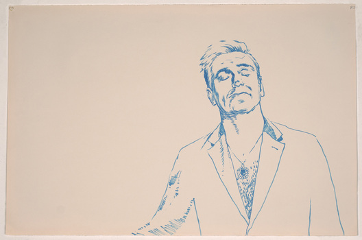 ABMacD Morrissey brush pen on paper