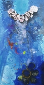 ABMacD Dresses 2005-2006 Oil and mixed media on canvas