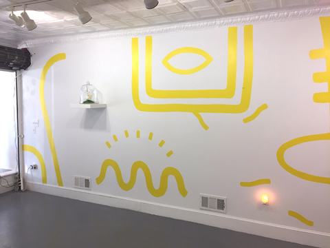 Yellow Cubic / OpenSpace Gallery