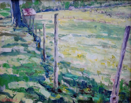 Amy Conover Landscape Paintings oil on canvas