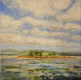 Amy Conover Landscape Paintings oil on canvass