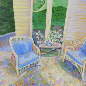 Amy Conover Interiors and Still Life Paintings oil on canves