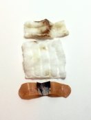 Amy Finkbeiner Shrines and Relics Band-Aids, cotton pads, blood