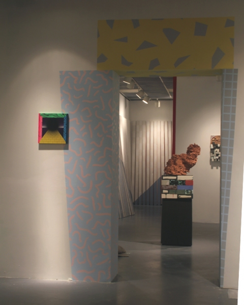 installation view, Free From Order