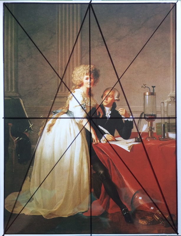 Various Studies of the Coincidence of 3-D Forms in Space with Surface Divisions of the Rectangle J. L. David's M. Lavoisier and His Wife