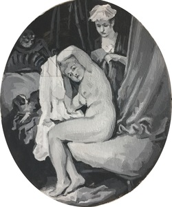 Watteau's A Lady at Her Toilet