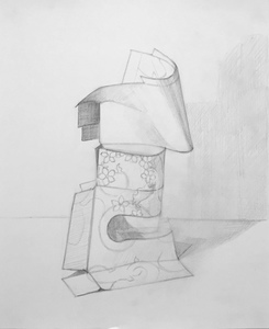 Tissue box drawing #3