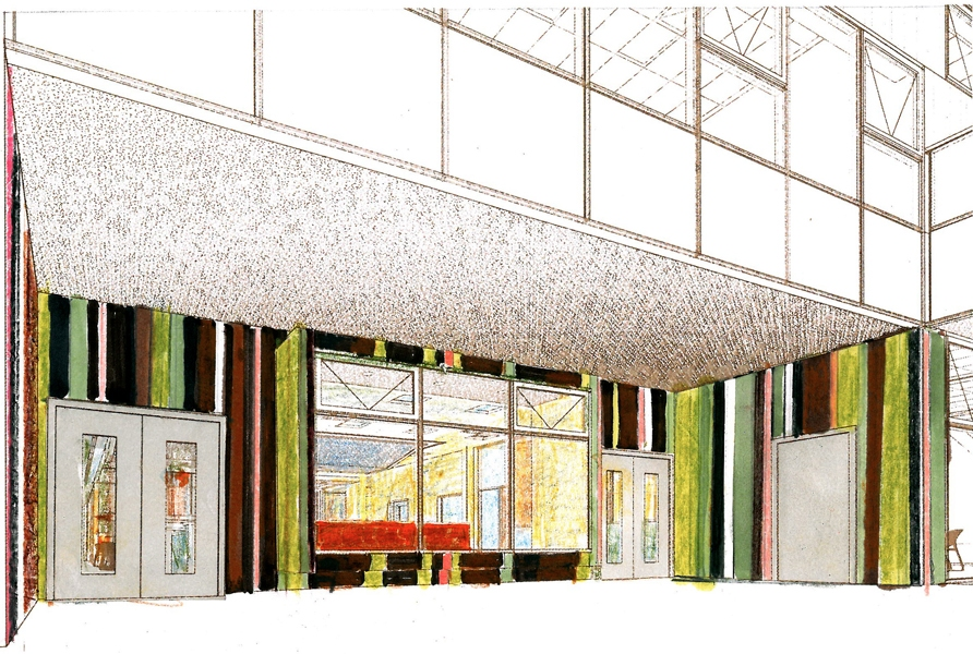 ASHLAND YOUTH CTR / CLEARING  Clearing: REACH Ashland Youth Center/ Design Sketch Entry