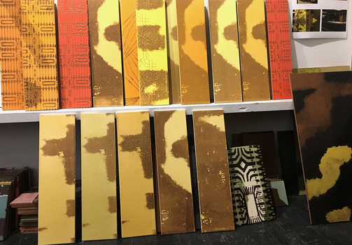 Ecstatic Voyaging : Tile samples