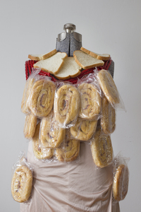 Emily Anderson - Jen Morris The Artemis Dress Patriotic Honey Buns, Twizzlers, White Bread, Polyester
