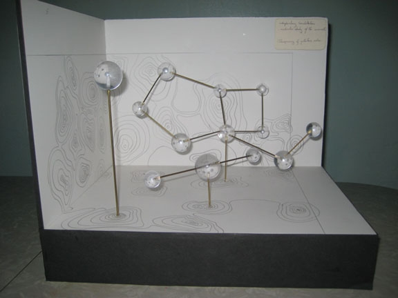 Prop and Model Making Molecular Model