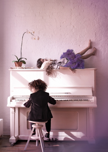 Kids The Pianist/ Amanda Pratt