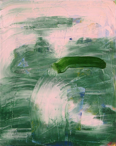 Paintings 2011-2016 Untitled (Green 2)
