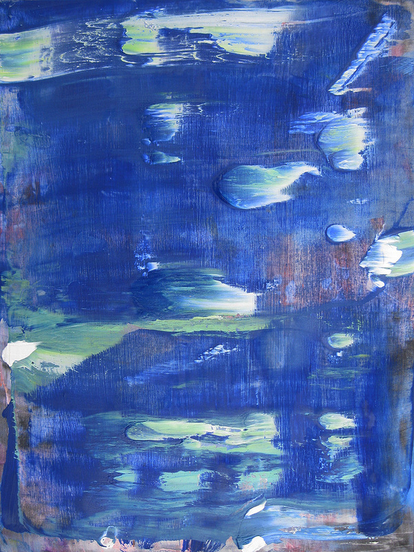 Paintings 2011-2016 Blue Bubble