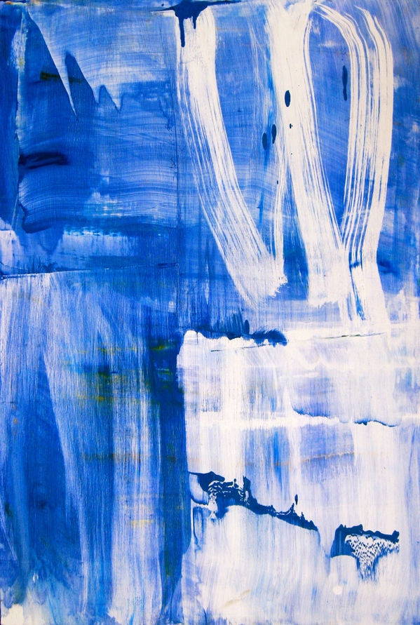 Paintings 2011-2016 Tall Blue