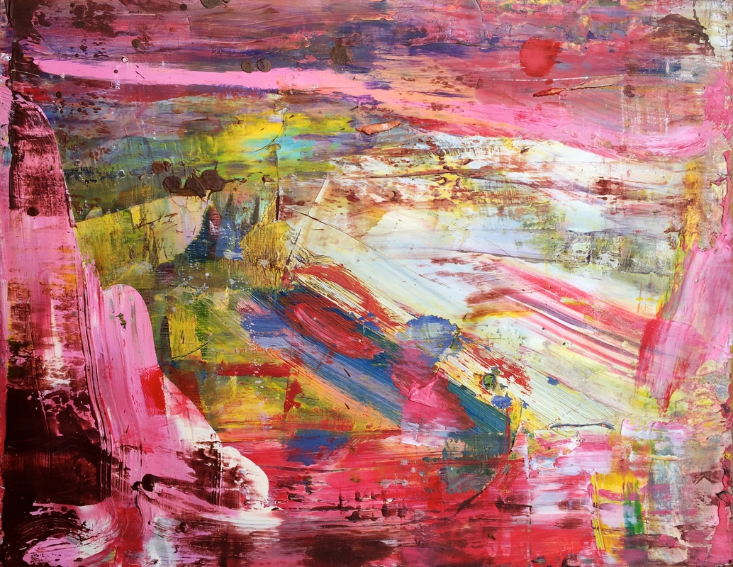 Paintings 2011-2016 Pink Frost