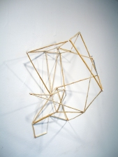 a     n     d     r     e     w            z     a     r     o     u 2012 wood, copper + steel wire, spray paint + liquid nails