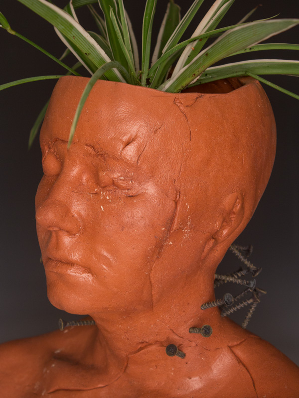 Busts Neck Pain I, planter