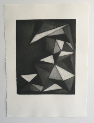 Anna R. Paul  2011 Copper Plate Etching- Mezzotint