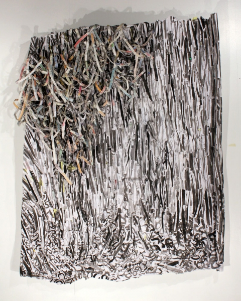 2010 Untitled (Shred II)