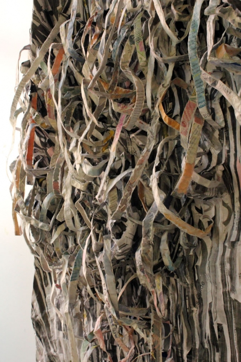 2010 Untitled (Shred II), detail