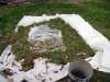 2009 Existing Pasture Grass, Stones, Various Plastics, Bucket