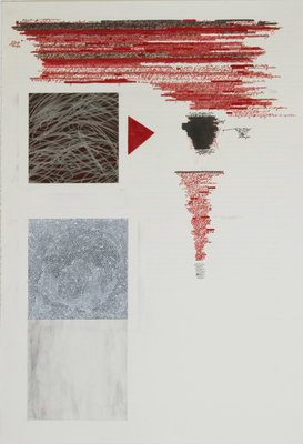 Anne Gilman Assorted works on paper 2013 pencil, ink, charcoal, acrylic medium